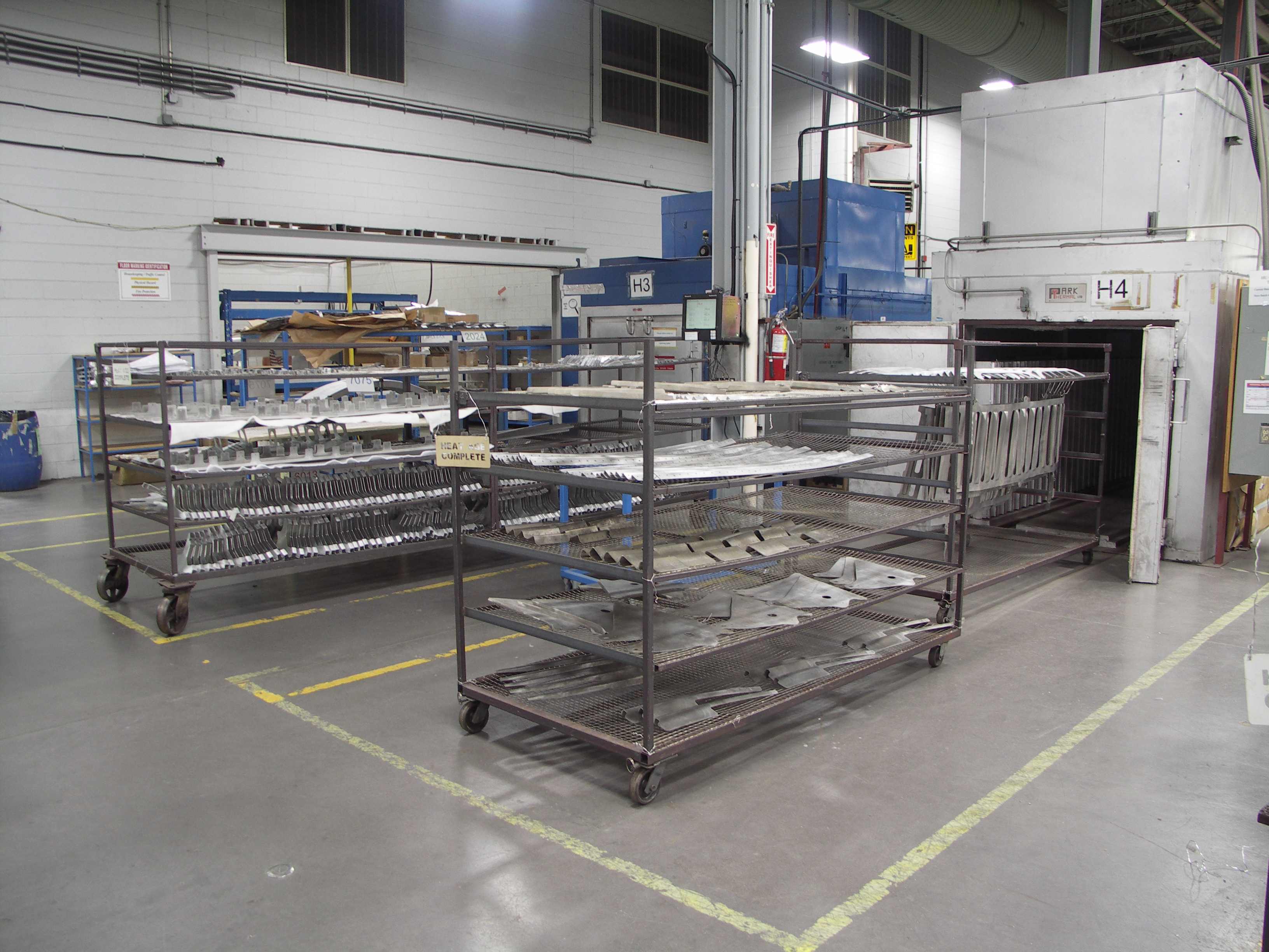 IMP Aerostructures Heat Treatment and Heat Aging